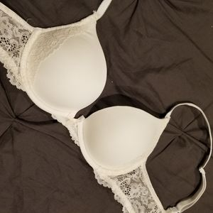 VS Dream Angels White pushup bra